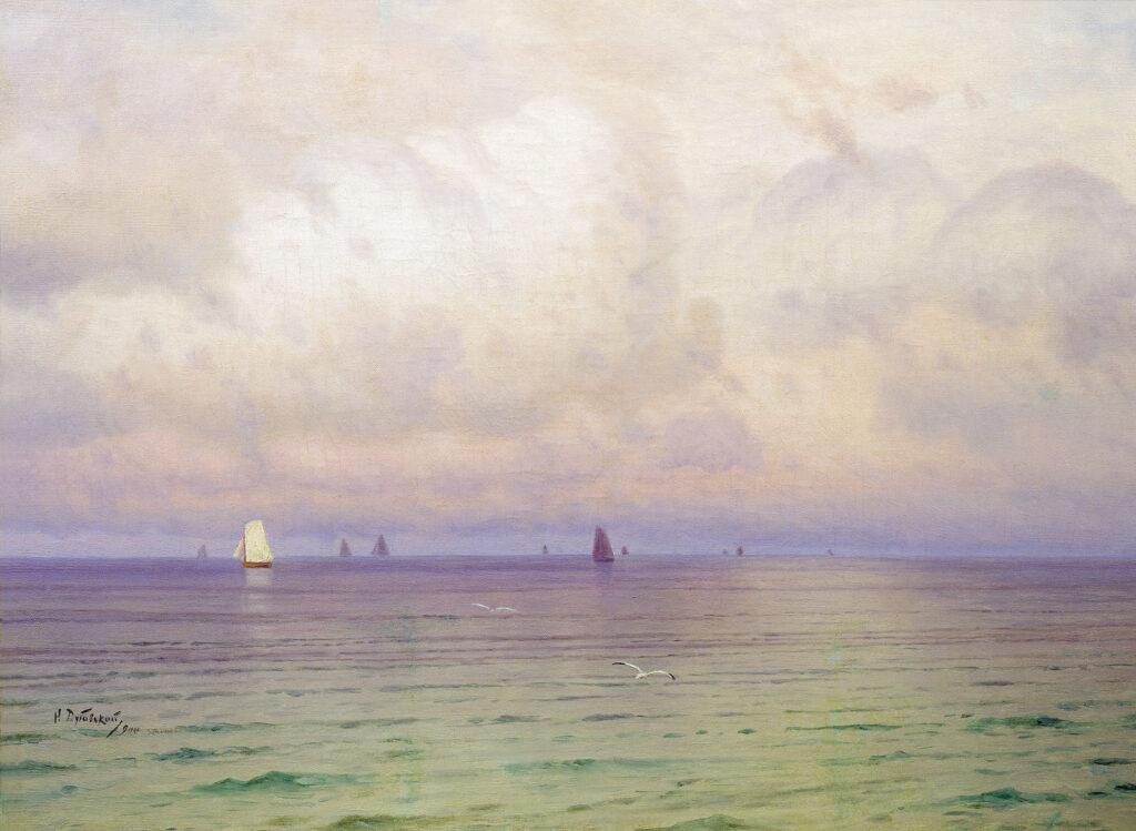 Описание картины «Море» Н. Дубовского