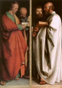 Альбрехт Дюрер «Четыре апостола»