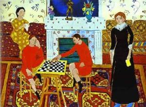 Анри Матисс «Семейный портрет»