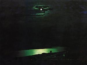 Архип Куинджи. Лунная ночь на Днепре