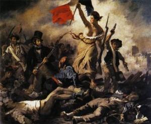 Эжен Делакруа «Свобода, ведущая народ на баррикады»