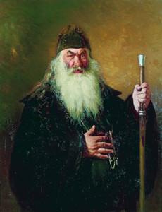 Илья Репин. Протодиакон