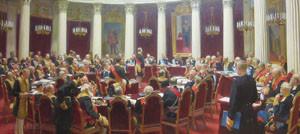 Илья Репин. Торжественное заседание Государственного Совета 7 мая 1901