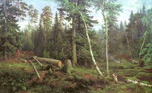 Иван Шишкин. Рубка леса
