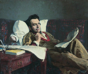 Михаил Иванович Глинка в период сочинения оперы Руслан и Людмила