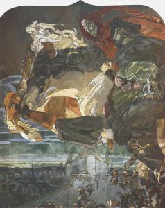 Полет Фауста и Мефистофеля
