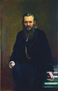 Портрет издателя и публициста Алексея Сергеевича Суворина