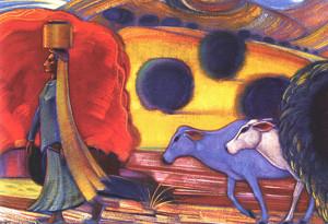 Святослав Рерих. Картины на бытовые темы