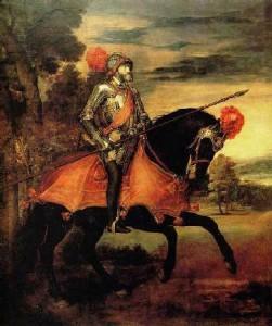 Тициан «Карл V в сражении под Мюльбергом»