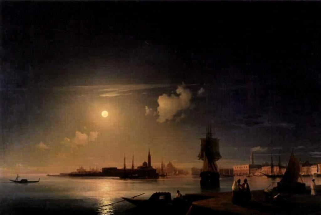 Айвазовский Иван - Ночь в Венеции
