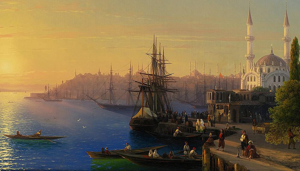 Айвазовский Иван - Вид Константинополя