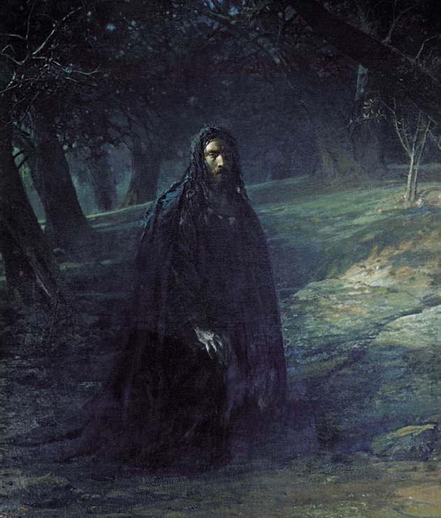 Николай Ге. Христос в Гефсиманском саду