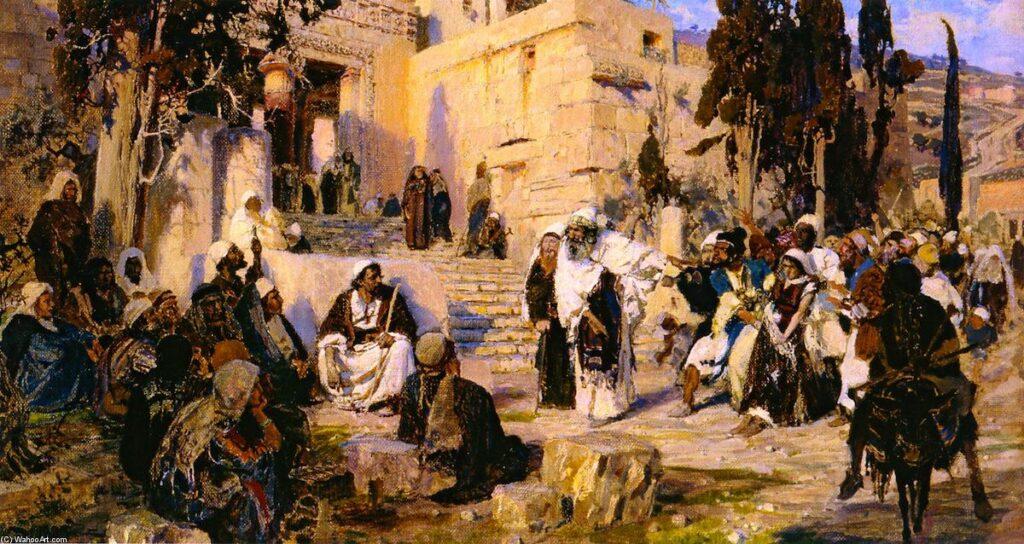 Поленов В.Д. «Христос и грешница»
