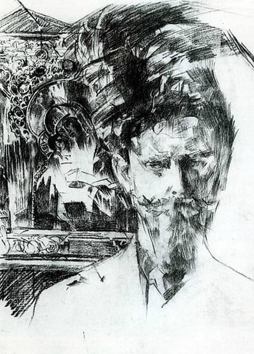 Портрет доктора Ф. А. Усольцева