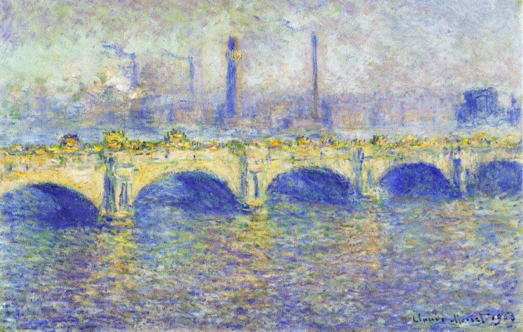 Клод Моне «Мост Ватерлоо. Эффект тумана»
