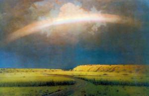 Сочинение по картине А.И. Куинджи «Радуга»