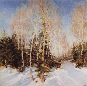 Сочинение по картине И.Э. Грабаря «Зимний пейзаж»