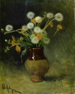Сочинение по картине И.И. Левитана «Одуванчики»