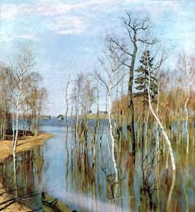Сочинение по картине И.И. Левитана «Весна. Большая вода»