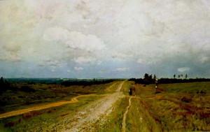 Сочинение по картине И.И. Левитана «Владимирка»