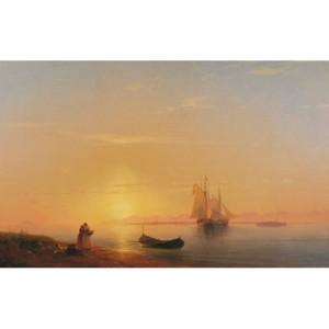 Сочинение по картине И.К. Айвазовского «Берега Далмации»