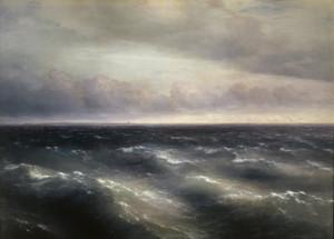 Сочинение по картине И.К. Айвазовского «Черное море»