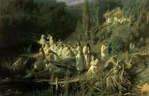 Сочинение по картине И.Н. Крамского «Майская ночь»