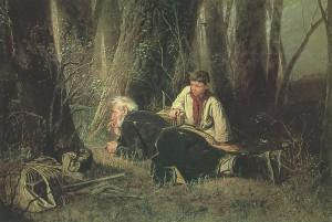 Сочинение по картине В.Г. Перова «Птицелов»