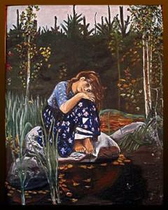 Сочинение по картине В.М. Васнецова «Алёнушка»