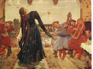Сочинение по картине В.М. Васнецова «Царевна-лягушка»