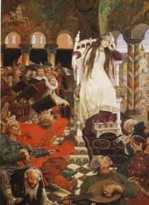 Сочинение по картине В.М. Васнецова «Царевна-несмеяна»