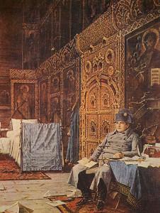 Сочинение по картине В.В. Верещагина «На этапе - дурные вести из Франции»