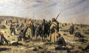 Сочинение по картине В.В. Верещагина «Победители»