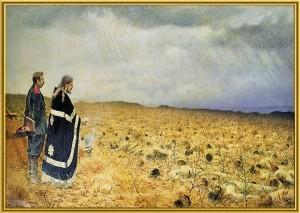 Сочинение по картине В.В. Верещагина «Побежденные. Панихида»