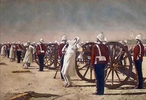 Сочинение по картине В.В. Верещагина «Подавление индийского восстания англичанами»