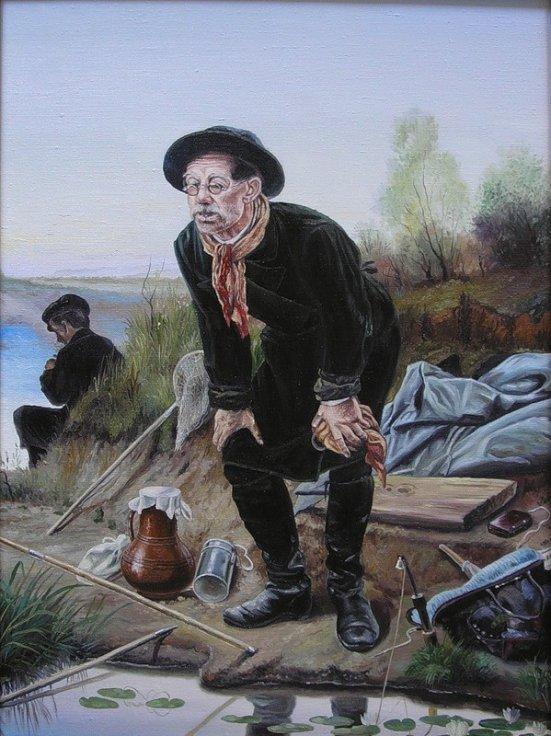 Сочинение по картине В. Г. Перова «Рыболов»