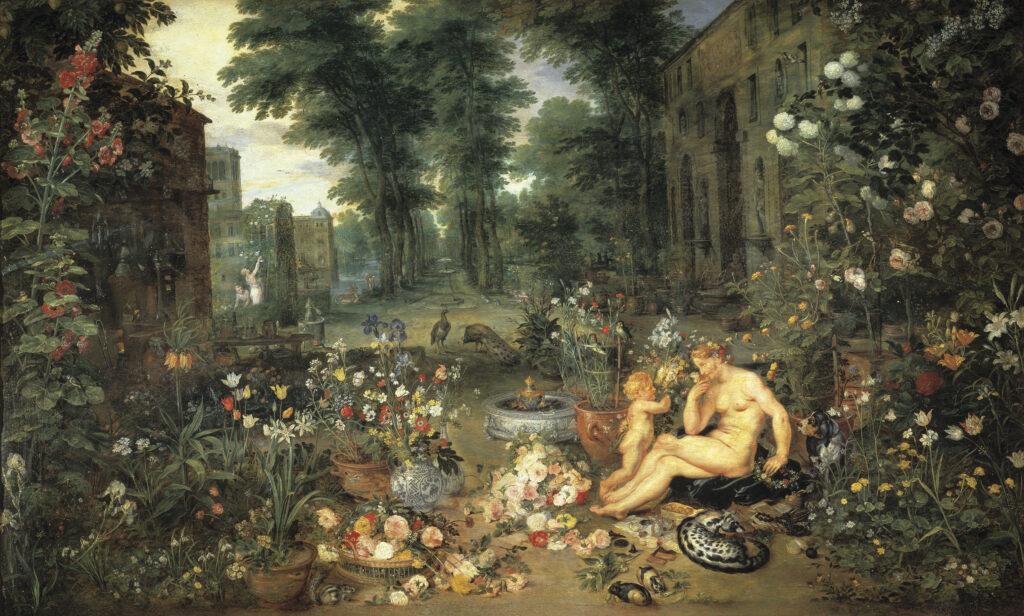Картина «Обоняние» - Брейгель и Рубенс