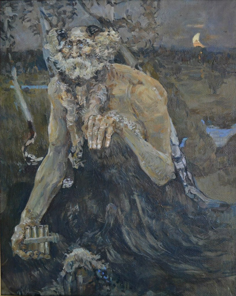 Михаил Врубель. Картина Пан