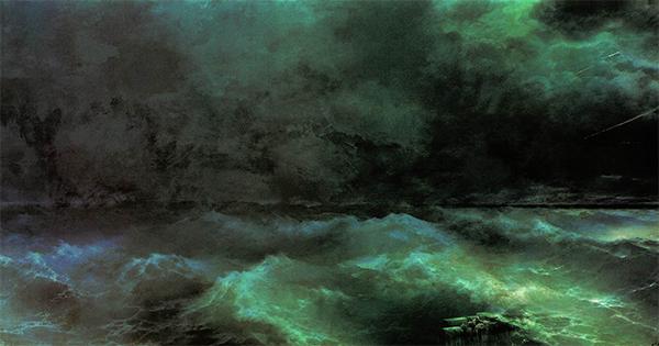Сочинение по картине И. К. Айвазовского «От штиля к урагану»