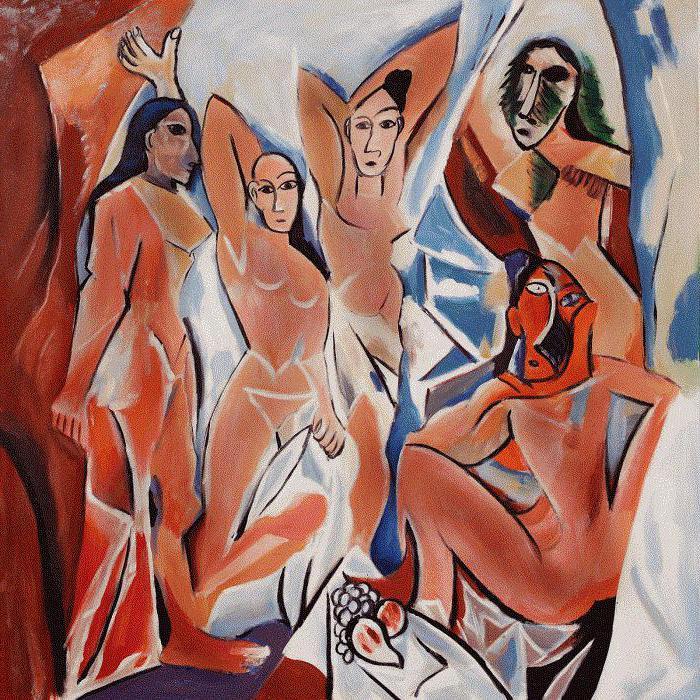 «Авиньонские девицы» Пикассо как начало нового течения в искусстве