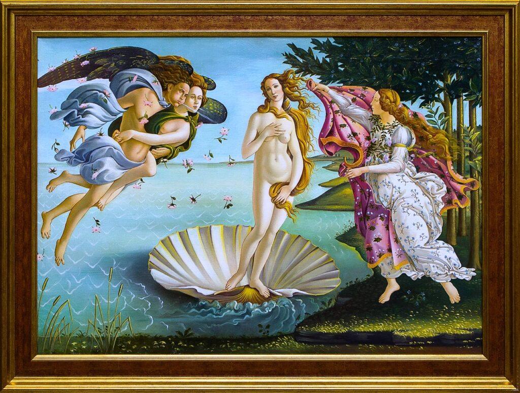 Сандро Боттичелли - Рождение Венеры