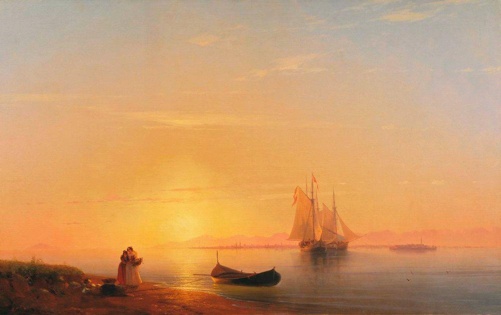 Сочинение по картине И. К. Айвазовского «Берега Далмации»
