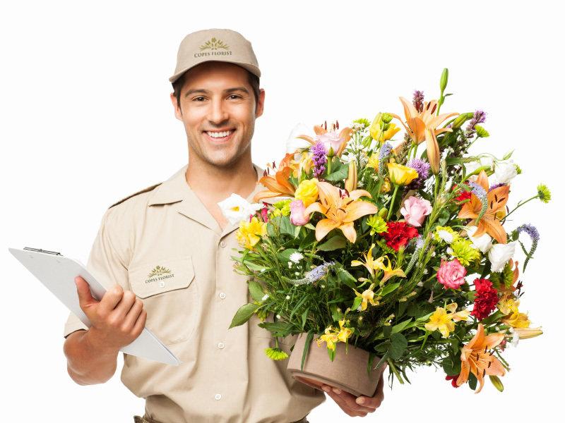 Доставка цветов - молодой и переспективный сервис