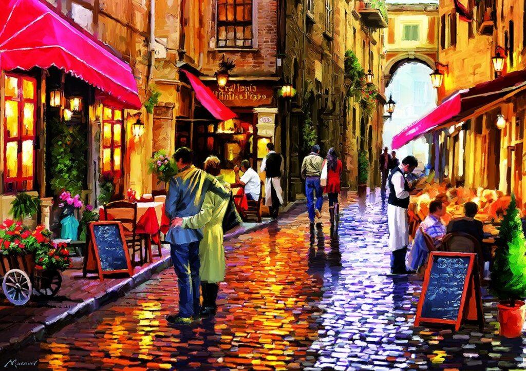 Италия. Столица уличной живописи
