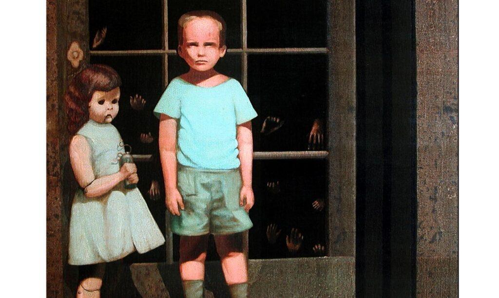 Картина «Руки защищают его» Стоунхэма