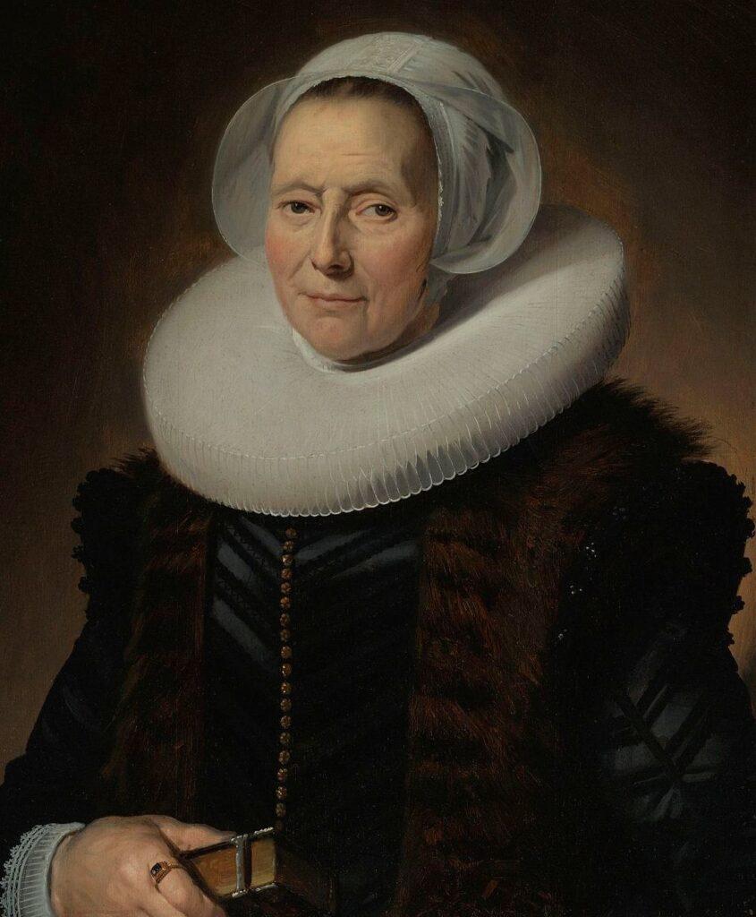 Портрет пожилой дамы, Франс Халс, 1633