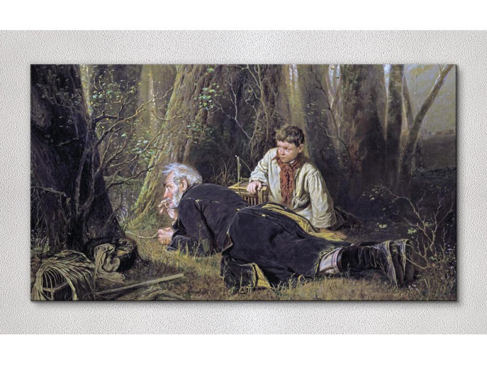 Сочинение по картине В. Г. Перова «Птицелов»