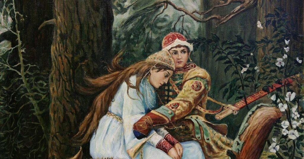 В. М. Васнецов «Иван-Царевич на Сером Волке»
