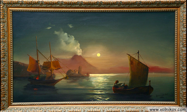 Сочинение по картине И. К. Айвазовского «Неаполитанский залив в лунном свете»