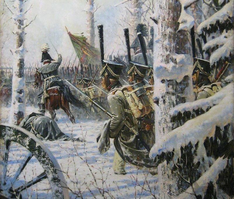 """Василий Верещагин. """"В штыки! Ура! Ура!"""" (Атака)"""